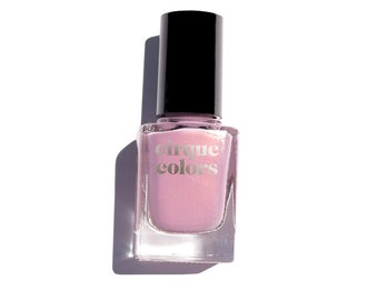 Plush Suede - Pink-Lilac Shimmer Holographic Sparkle Nail Polish