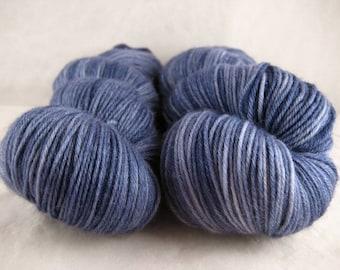 Blue Dusk - Hand Dyed Soft Sock Superwash MCN Fingering/Sock Yarn