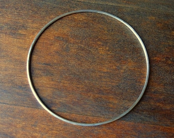 Bangle-Sterling Silver Thin- Small-Simple