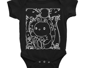 Bunny in the Sleepy Forest - Infant Bodysuit