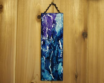 Abstract Ocean Hanging Tile Wall Art