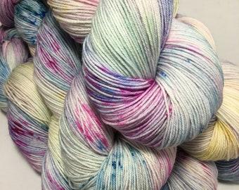 Just Before Dawn - Hand-dyed Sock / 4ply Peddero Merino & Nylon Yarn