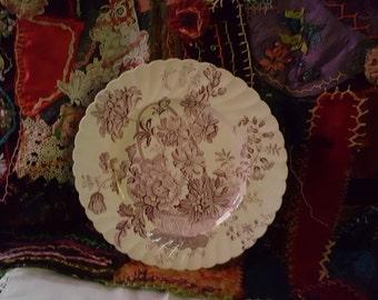 Clarice Cliff Dinner Plate 10 inch diameter