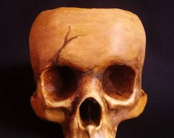 Skull Bowl Skull halloween Human skull Skull 3d print
