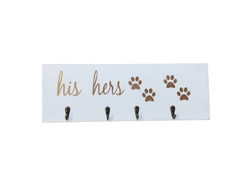 Key Holder, Key Hanger, Dog Leash Holder, Leash Holder, His Hers,