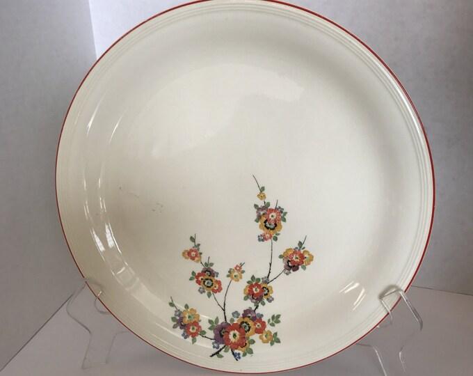 Semi Vitreous Knowles China Platter