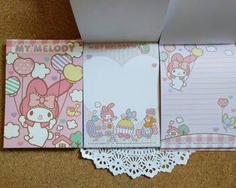 Kawaii my melody notepad 100 sheets