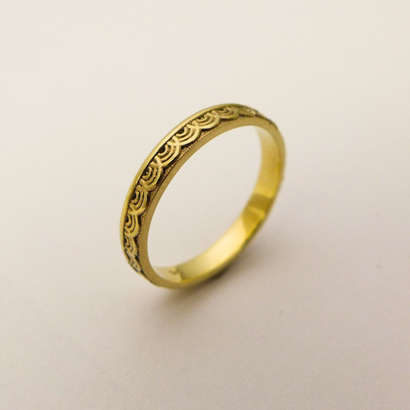band s wedding bands ring mens men media unisex simple gold