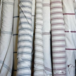 Grain sack-fabric by the yard-rustic-farmhouse-one continuous cut-upholstery fabric-3.99 shipping per yard-shipping overages refunded