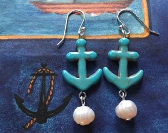 SALE Sail the High Seas Earrings