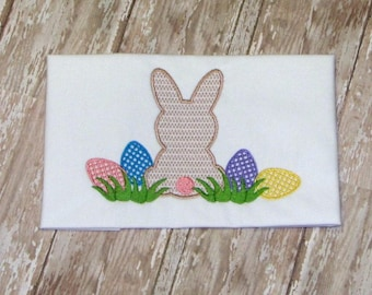 Easter Embroidery Design, Machine Embroidery Design, Easter Bunny Embroidery Design