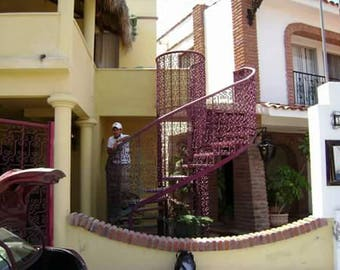 Spiral staircase made to order