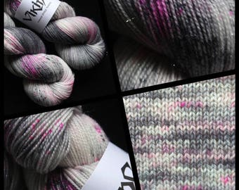 "Dyed to Order, Hand Dyed Yarn, Hand Dyed Sock Yarn, Hand Dyed DK Yarn. ""Ingenue"""