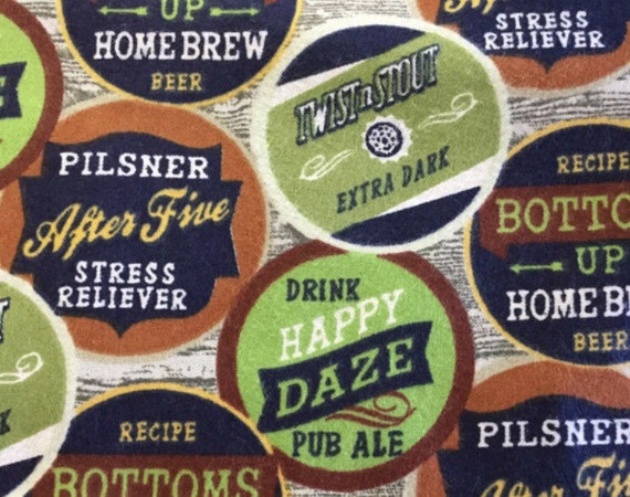Flannel Craft Beer Fabric Craft Beer Flannel Brewery