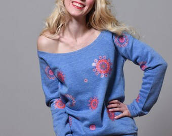 Sweater Blue Spring
