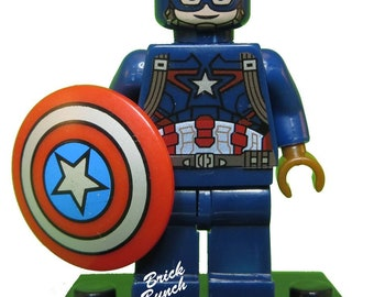 Captain America Winter Soldier Custom LEGO