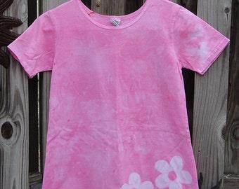 Flower Girls Dress, Pink Girls Dress, Batik Girls Dress, Pink Flower Dress, Girls Flower Dress, Girls Pink Dress, Pink Flower Girl Dress (8)