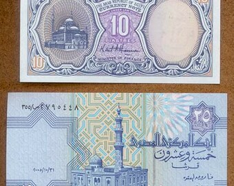 Banknotes from Egypt - Collage, Altered Books, Decoupage, Scrapbooking