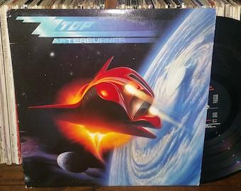 ZZ Top Afterburner Vintage Vinyl Record