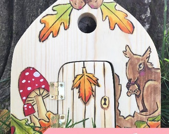 Fairy Door, Waldorf-inspired Magickal all-natural wooden toy
