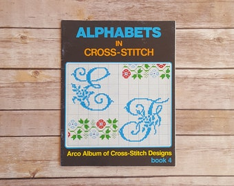 Alphabet Cross Stitch Templates Fun Alphabet Letters Cross Stitch Reference Book Cross Stitch Ideas Decorative Letters How To Cross Stitch