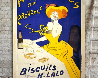 OVERSIZED CANVAS Wall Art, Art Nouveau Poster, Leonetto Cappiello, Big Wall Art, Vintage French Advertising Poster, Artwork for Living Room.