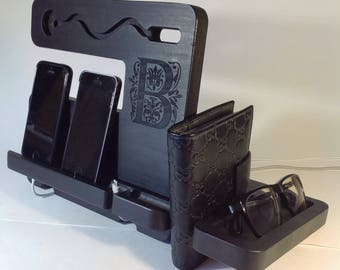 Charging Station Apple Watch Docking Station Apple Watch nightstand organize Watch Station Apple Watch Docking iPhone fathers day gift