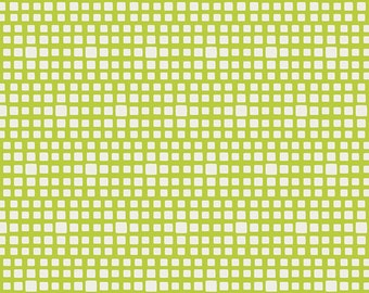 Lime Green Squares From Art Gallery's Squared Elements - Choose Your Cut