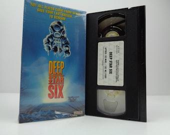 Deep star six VHS Tape