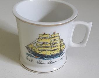 Vintage Mug Ariel China Clipper 1865 Nautical  Ships