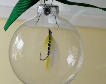 Fly Fishing Ornament