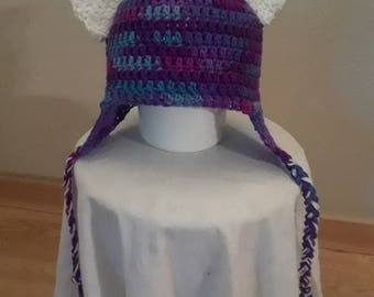 Purple Cat Hat