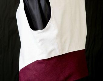 Hand Made Women's Vest M - Curved Hem