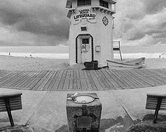 Laguna Beach, Lifeguard Tower, USA