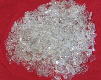 Three Pounds of Crash Glass Tempered Glass. Free Shipping