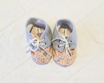 Little Animal Soft Soled Shoes