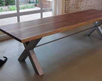 Reclaimed Black Walnut Dining Table | Willow Springs Table