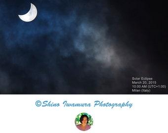 Solar Eclipse Sun Photography - Sun Print Sun Art Sun Wall Art Solar Eclipse Photo