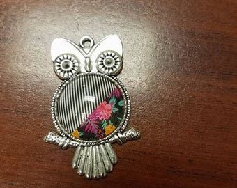Jammin Jamberry Owl Necklace on silver plated brass necklace