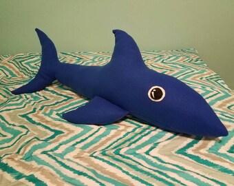 Shark body pillow Etsy