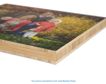Bamboo Panels, Home Decoration, Choose Any Photograph, Stylish Home Decor, Cool Canvas Mount, Wall Art Displays, Photo Wall Hanging