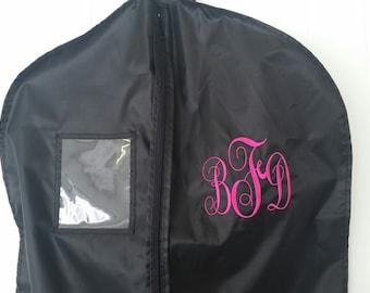 Garment Bags- Custom Garment Bags- Monogram- personalized bags- luggage garment bag- embroidered bag