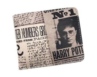 Harry Potter Wallet, Guys Wallet, Wallet for Men, Bill Fold