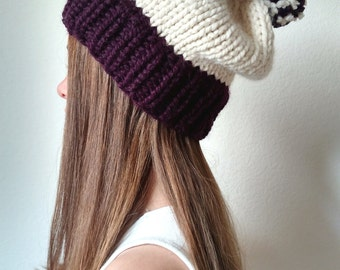 The SITKA - Knit ski slouchy hat with Pom Pom - More colors available