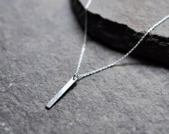 Smooth Bar Necklace