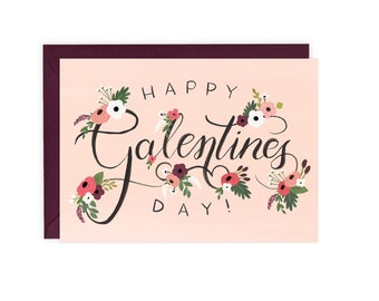 Happy Galentines Day - Friend Valentines Card