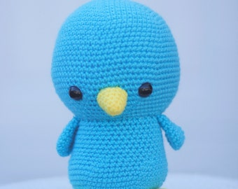 Betty the Bluebird | Bird Stuffed Animal | Blue Bird | READY TO SHIP