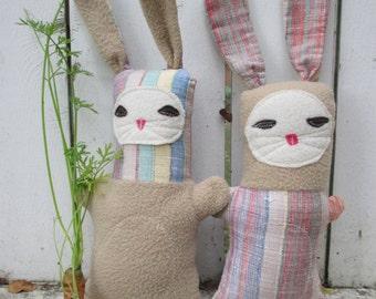 Stuffed Bun Bun Twins