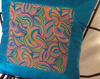 Pucci Style Print Pillow