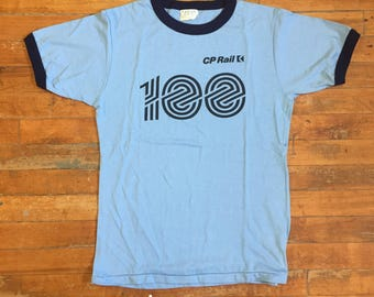 Vintage CP Rail 100 T Shirt